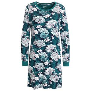 Damen Nachthemd mit Blumen allover