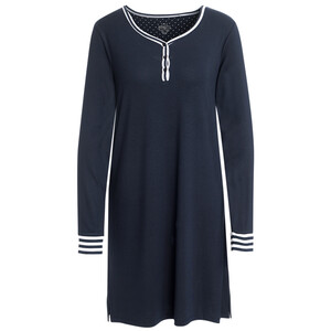 Damen Nachthemd mit Knopfleiste