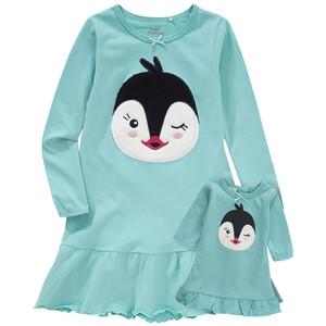 Mädchen Nachthemd mit Puppen-Nachthemd
