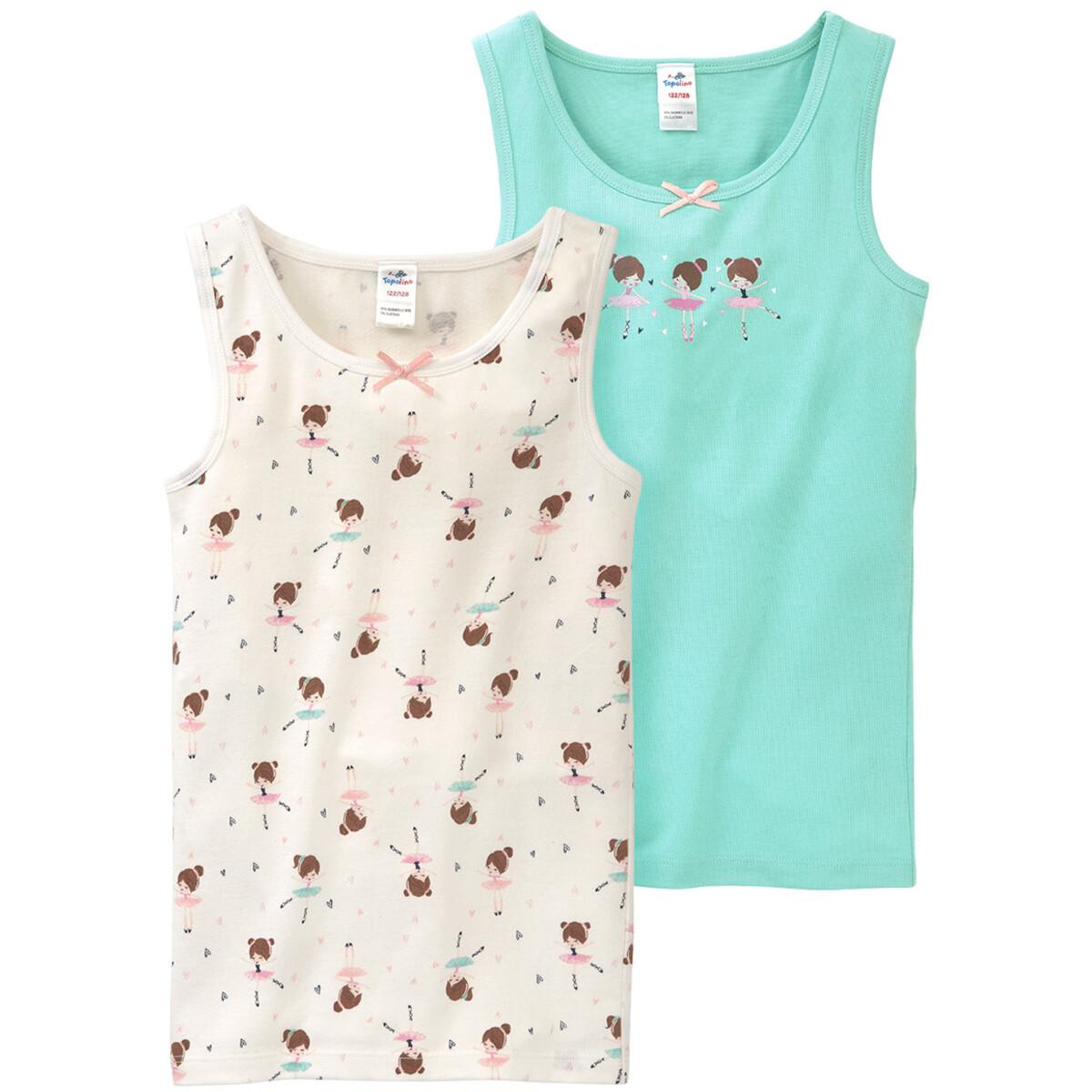 Bild 1 von 2 Mädchen Unterhemden im Set