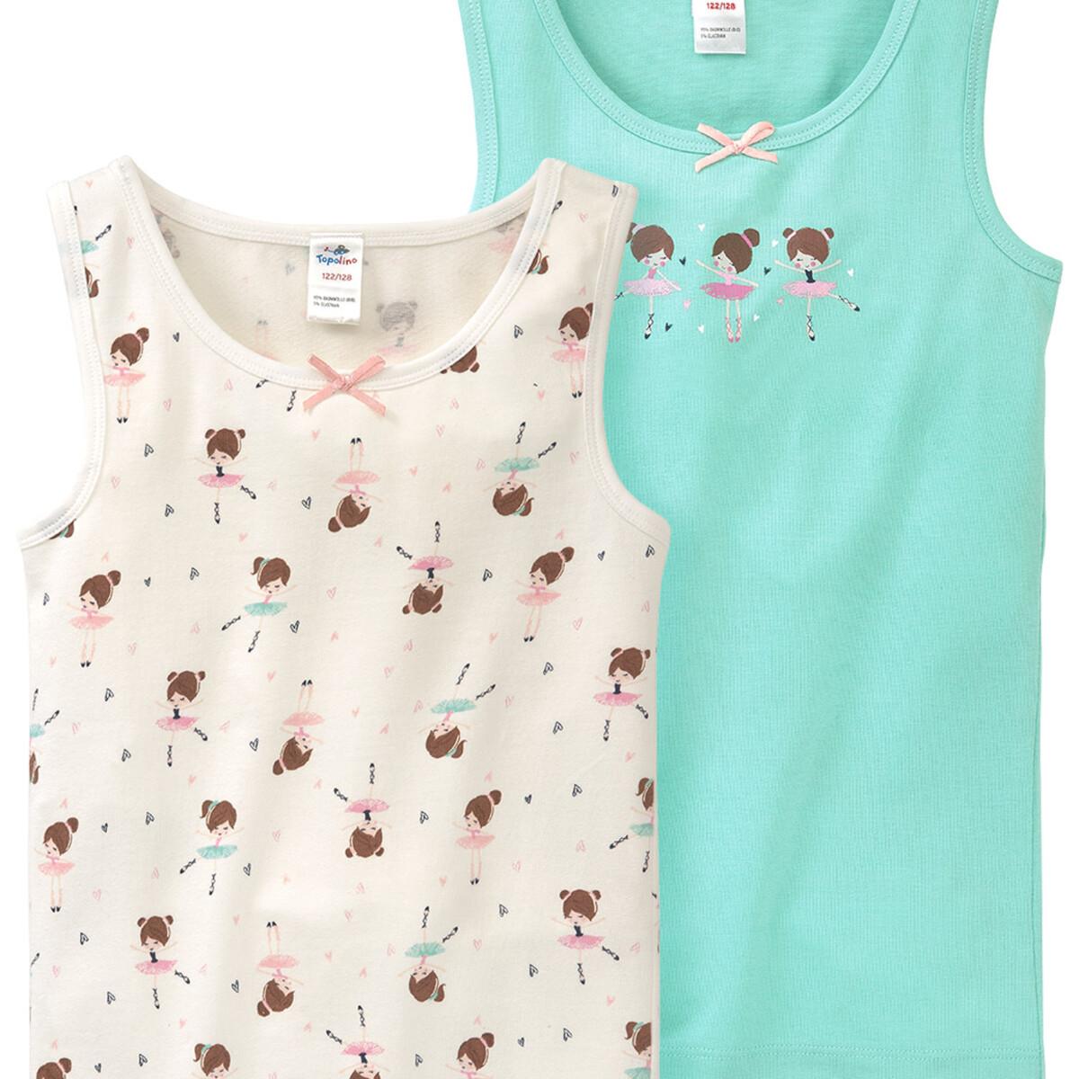 Bild 2 von 2 Mädchen Unterhemden im Set