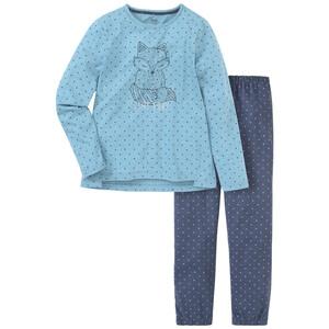 Mädchen Schlafanzug mit Fuchs-Motiv