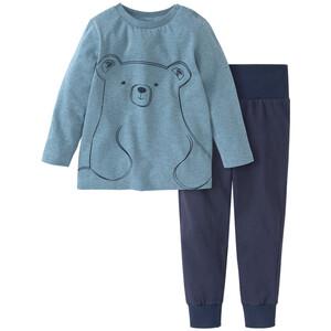 Baby Schlafanzug mit Eisbäre-Motiv