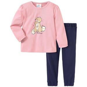 Baby Schlafanzug mit tierischem Print
