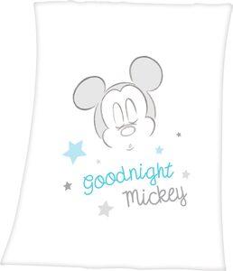 Babydecke »Mickey Mouse«, Walt Disney, mit niedlichem Mickey Mouse Desing