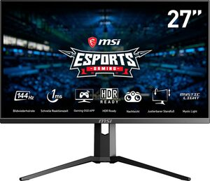 MSI MAG273RDE Gaming-Monitor (1920 x 1080 Pixel, Full HD, 1 ms Reaktionszeit, 144 Hz)
