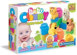 Clementoni® Spielbausteine »Clemmy Baby Tiere«