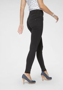 Arizona Skinny-fit-Jeans »Ultra Stretch« High Waist mit offenem Saum