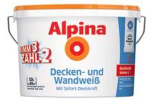 Alpina  Decken- und Wandweiß
