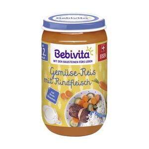 Bebivita Menü, versch. Sorten, jedes 250-g-Glas