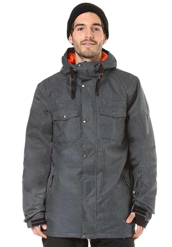 Light Stanley - Snowboardjacke für Herren - Grau