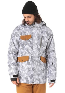 Light Lamb - Snowboardjacke für Herren - Camouflage