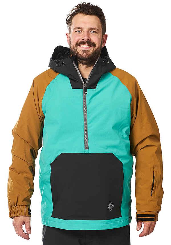 Light Rail - Snowboardjacke für Herren - Grün