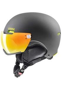 uvex 500 Visor Snowboard Helm - Grau