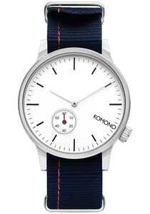 Komono Winston Subs Nato Marine - Uhr für Herren - Blau