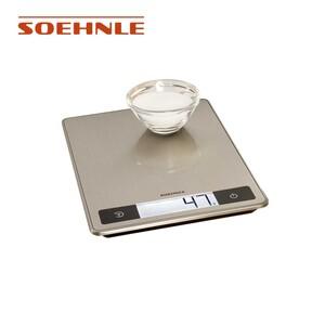 """Küchenwaage """"Page Profi 200"""" • hochwertiger Edelstahl mit Anti-Fingerprint-Beschichtung • extragroße Wiegefläche & extrahohe Tragkraft bis max. 15 kg"""