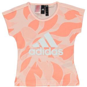 Mädchen Sport Shirt mit Front Print