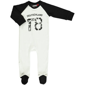 Baby Pyjama mit Fussball Print