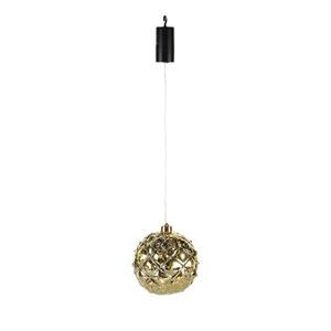 ProVida LED-Hängeobjekt Ornament Kugel Ø15 cm goldoptik