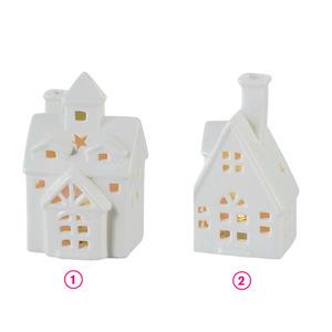 ProVida LED Haus Keramik in verschiedenen Varianten