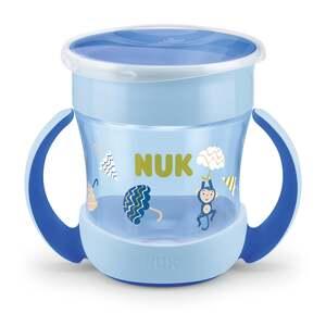 NUK Mini Magic Cup Trinklernbecher, blau