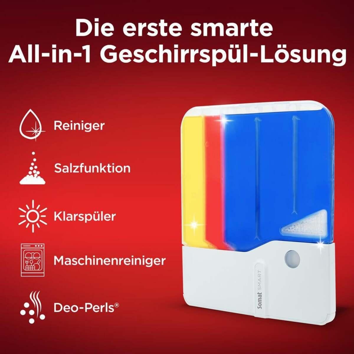Bild 2 von Somat Somat Smart Starter-Kit All-in-1 Geschirrspülreiniger