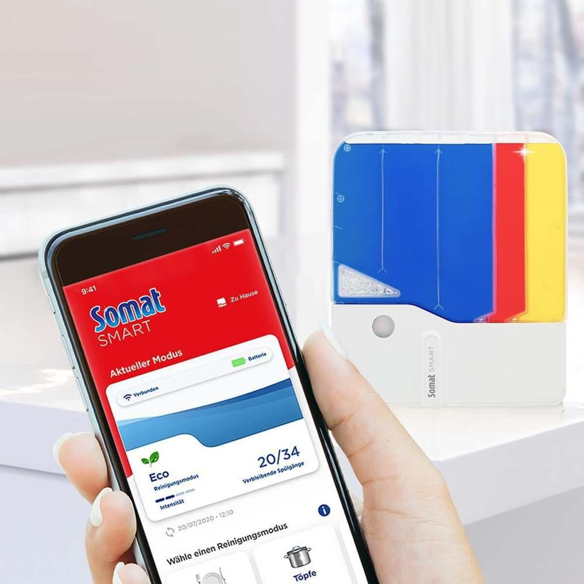 Bild 3 von Somat Somat Smart Starter-Kit All-in-1 Geschirrspülreiniger