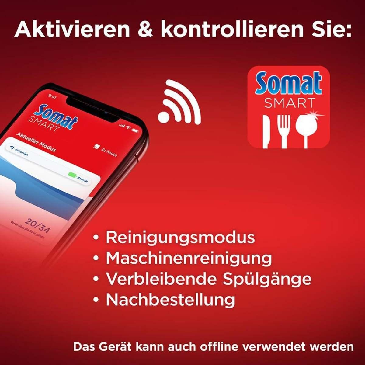 Bild 4 von Somat Somat Smart Starter-Kit All-in-1 Geschirrspülreiniger