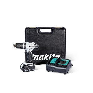 Makita Akku-Schlagbohrschrauber-Set 'DHP 453 SMWX' 18 V