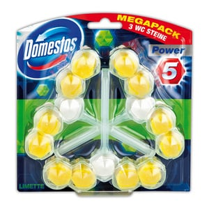 Domestos Megapack WC Steine Power 5 Trios