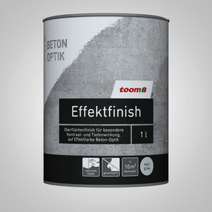 toom Effektfinish Beton-Optik hellgrau 1 l