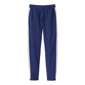 Damen-Hose mit gewebtem Seitenband