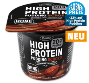 ROMA High Protein Pudding