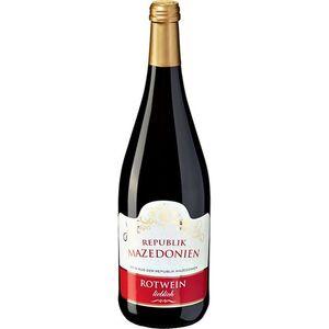 Rotwein aus der Republik Nordmazedonien 10,0 % vol 1 Liter