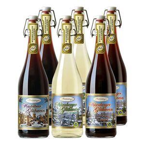 """Meistersinger Glühweine 3fach sortiert """"Tradition aus Nürnberg"""" 8,5 - 10,0 % vol 6 x 0,75 Liter"""
