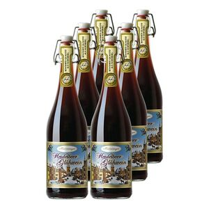 Meistersinger Heidelbeer-Glühwein 8,5 % vol 6 x 0,75 Liter
