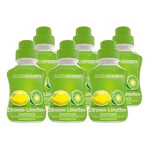 Sodastream Sirup Zitrone-Limette 0,5 Liter, 6er Pack
