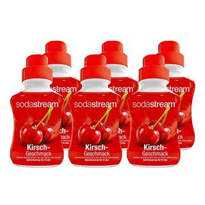 Sodastream Sirup Kirsch 0,375 Liter, 6er Pack