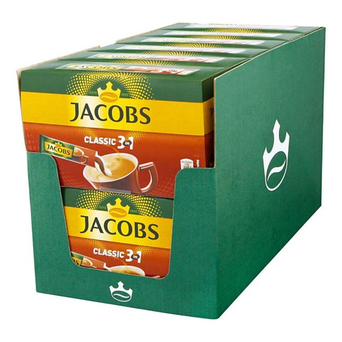 Bild 1 von Jacobs Kaffeesticks 3in1 180 g, 12er Pack