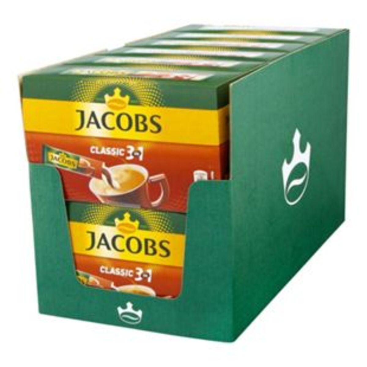 Bild 2 von Jacobs Kaffeesticks 3in1 180 g, 12er Pack