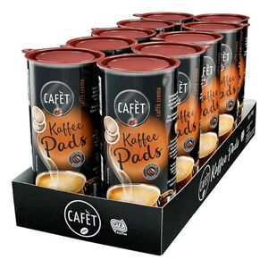 Cafet Crema Pads 144 g, 10er Pack