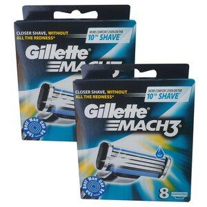 Gillette Mach3 Rasierklingen 16 Stück für Herren