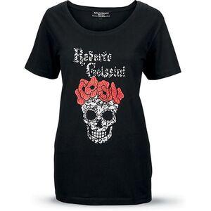 Roberto Geissini Damen T-Shirt, schwarz, Gr. S