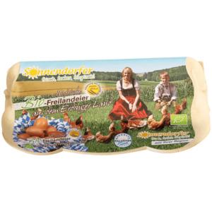 Sonnendorfer Bio Eier Freilandhaltung 10 Stück