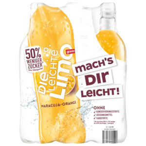 Granini Die leichte Limo Maracuja Orange 6x1l