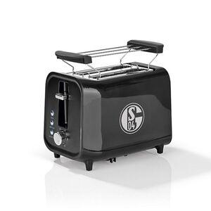 S04 Toaster mit Soundfunktion 800W schwarz/silber