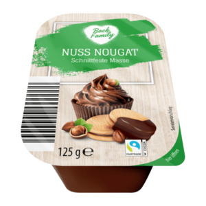 BACK FAMILY 					Nuss Nougat