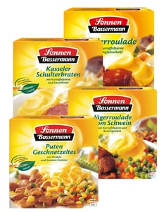 Sonnen Bassermann Menü-Schalen