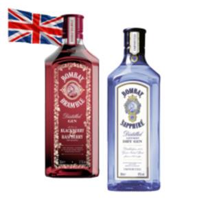 Bombay Sapphire Dry Gin oder Bombay Bramble Gin