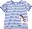 Bild 1 von ALANA Kinder Shirt, Gr. 98, in Bio-Baumwolle, blau, weiß